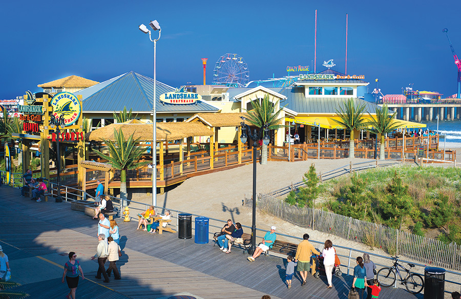 Landshark Beach Bar And Grill in AC