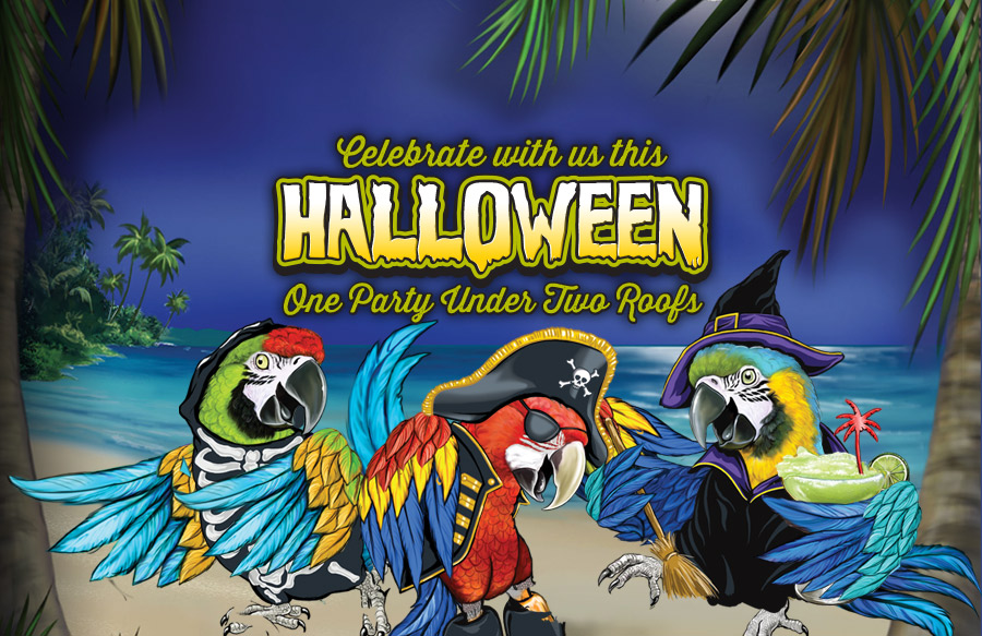 Atlantic City's Best Halloween Party is at Margaritaville!