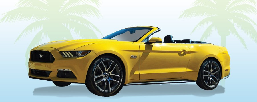 mustang car giveaway 2016 - Resorts AC New Jersey Casino Deals
