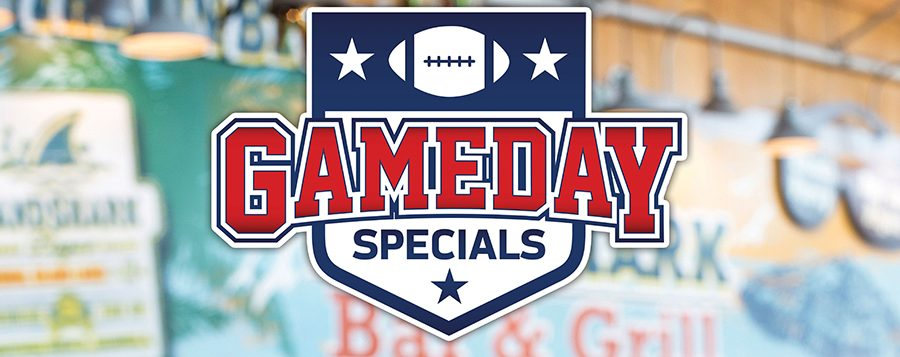 Football Gameday - Landshark Bar Specials - Restaurants in Atlantic City