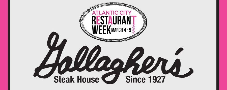 Atlantic City Gallagher's Steak House Restaurant Week