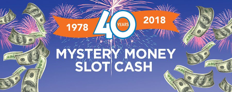 40th anniversary mystery money slot cash