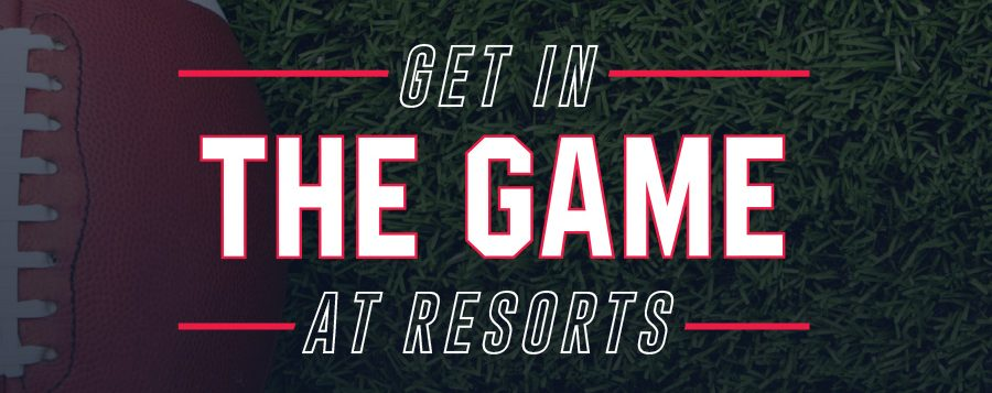 get in the game at resorts