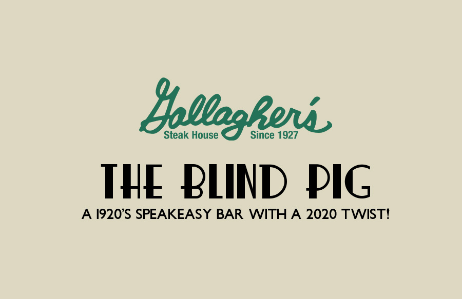 The Blind Pig - A 1920's Speakeasy Bar with a 2020 Twist!